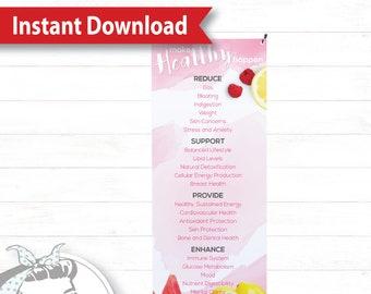 Banner with X-Stand - Watercolor - Instant Download, plexus Banner, New slim, Pink Drink, Pink Drink Update, plexus Swag