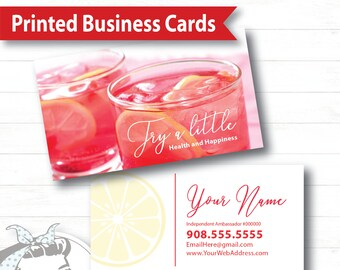 Plexus business cards etsy business card try a little plexus business card new slim pink drink pink drink update plexus swag colourmoves