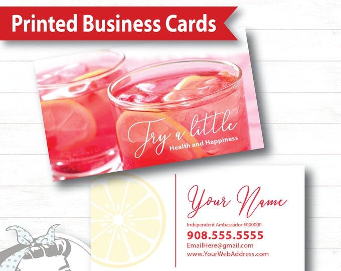 Business Card - Try a Little, plexus Business Card, New slim, Pink Drink, Pink Drink Update, plexus Swag