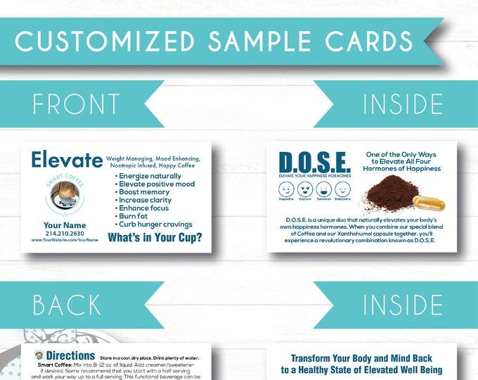 Folded Sample Cards - Customized