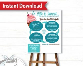 Poster - Cravings - Instant Download