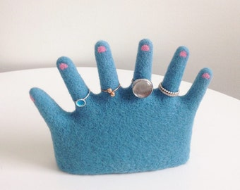 Ring holder SIX FINGERS HAND )