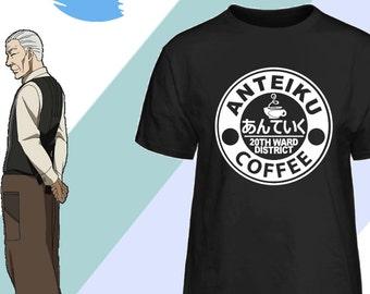 Anteiku Coffee 20th Ward District Anime Tokyo Ghoul Inspired T-Shirt