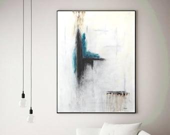 Modern Interieur Schilderij : Schilderij boven het bed home in bedroom
