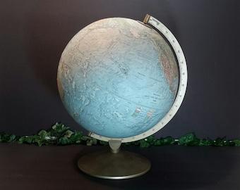 Replogle Globe, World Globe, Educational, Vintage Globe, World Map, Classroom, Atlas