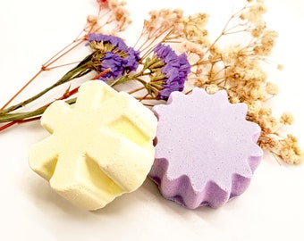 Shower Steamer 5 pack, eucalyptus shower steamers with essential oils for sinuses, lavender shower fizzies, shower bombs gift set for her