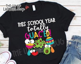 Teacher Appreciation End of School Year Guac/_ed Unisex Sweatshirt tee