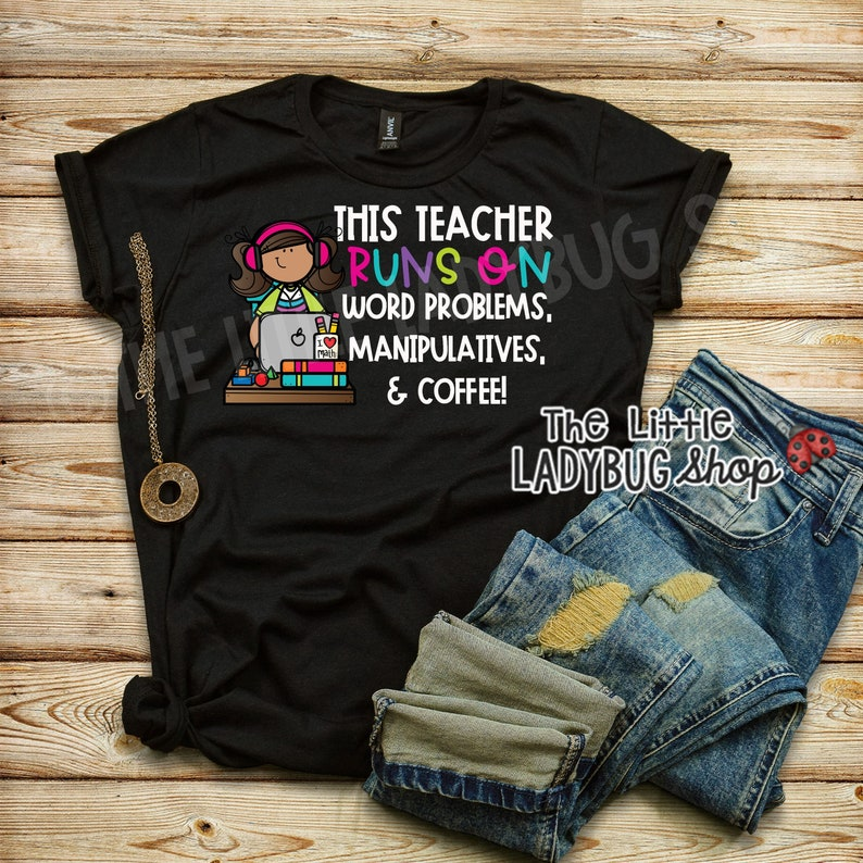 Math Teacher Tee  Teacher T-Shirt  Teacher Tee  Teaching image 0