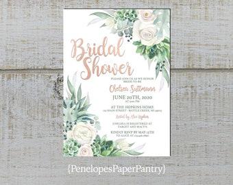 Bridal Shower Invitation Etsy