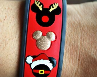 Holiday Character Magic Band Decal Christmas Hanakkuh