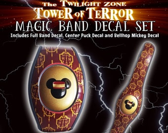 Tower of Terror 2.0 Magic Band Skin Decal Set
