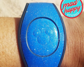 Clear Glitter 2.0 Full Magic Band Cover Decal Set