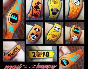 Halloween Magic Band Decals
