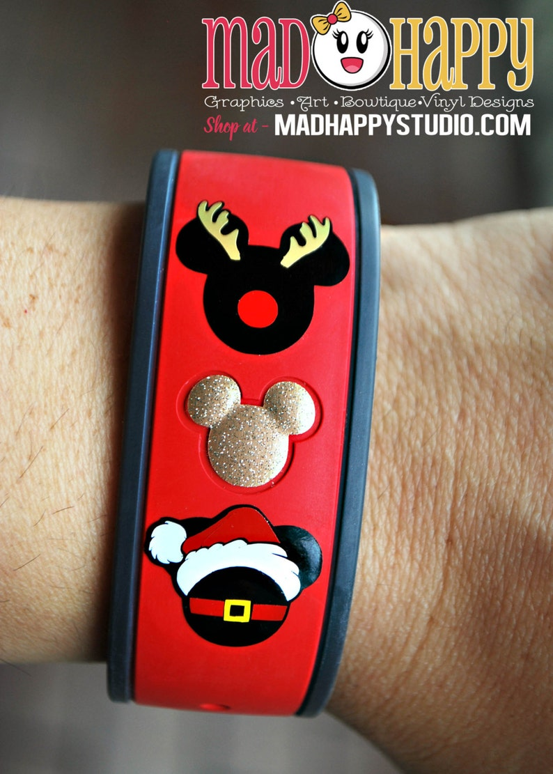 Holiday Character Magic Band Decal Christmas Hanakkuh image 0