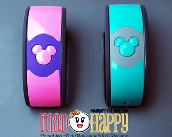 Magic Band Vinyl Color Decal Skin with Personalization
