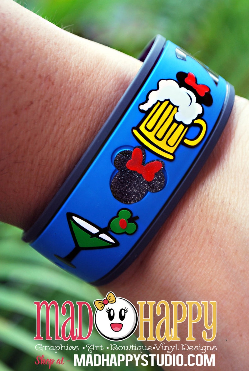 Food and Drink Magic Band Decals image 0