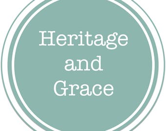 Gift Certificate for Heritage and Grace