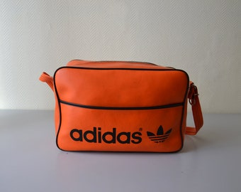 Vintage ADIDAS bag   genuine Adidas shoulder bag 80s 1e106ab5466fe
