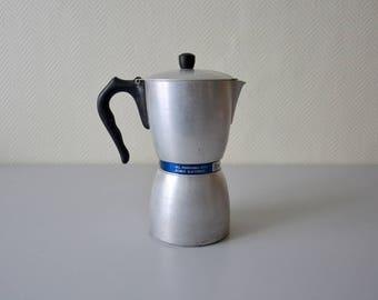 Vintage Moka Express COFFEE MACHINE / Italian Espresso coffee maker / Patented model