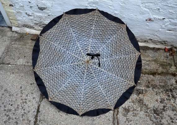 Vintage French lace umbrella
