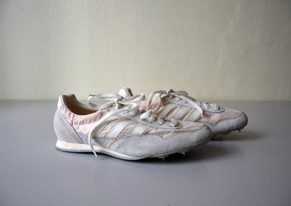 Vintage ADIDAS Laufschuhe Spitzen der Leichtathletik in Jugoslawien in den 1980er Jahren gemacht Schuhgröße 43