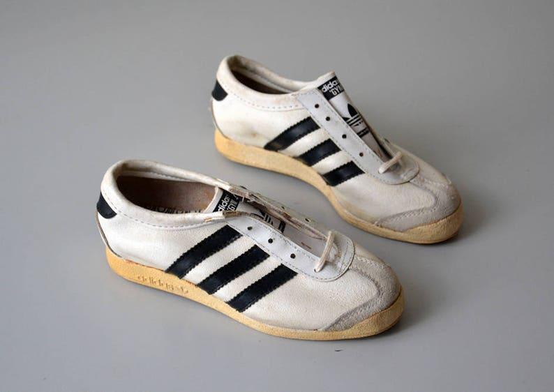 Vintage Francia Tenis 31 Zapatillas En Gym Zapato 80 Zapatos De Adidas Tamaño Años lKcT1FJ3