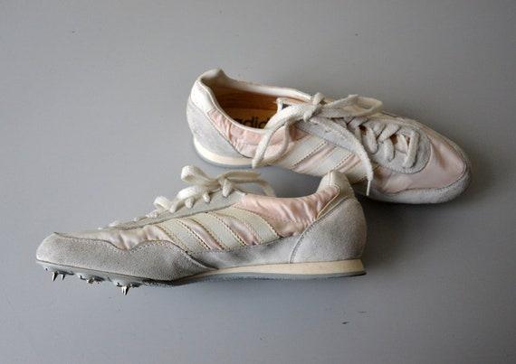 Vintage ADIDAS Scarpe da corsa picchi di atletica leggera