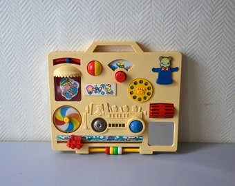 Vintage activity center /  activities for baby