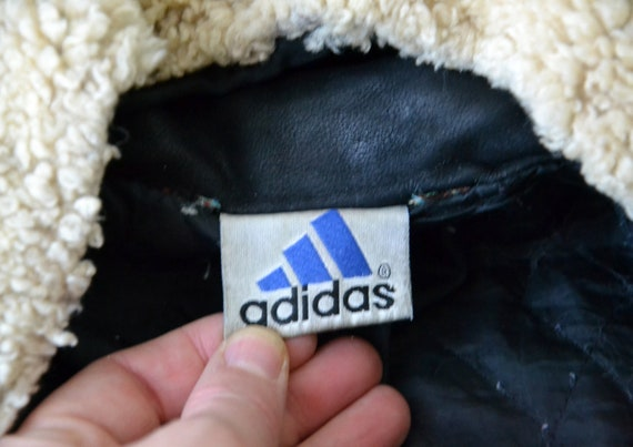 Vintage Adidas 1972 Sapporo Olympic Games Leather Bomber