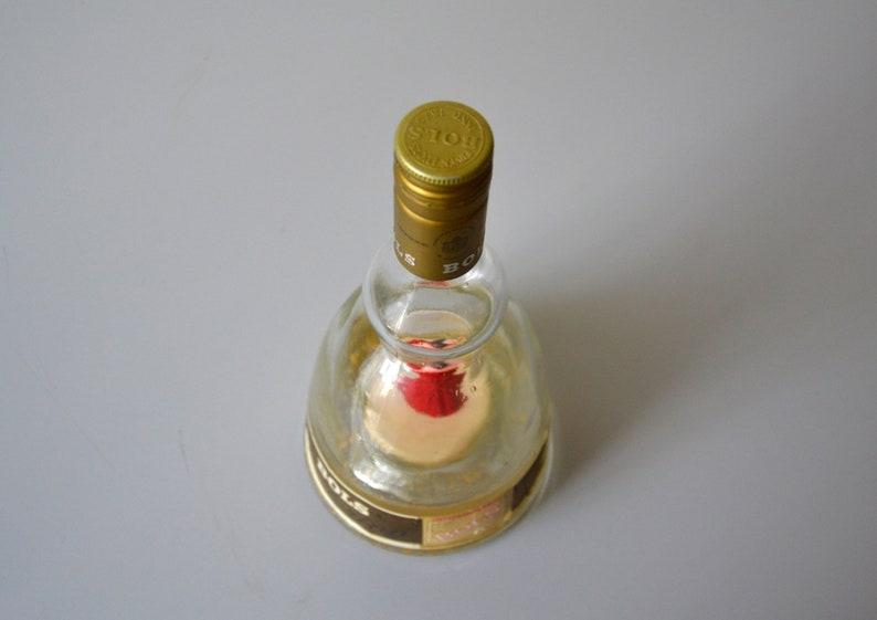 Vintage musical dancing ballerina bottle music box waltz dancer in perfect working condition