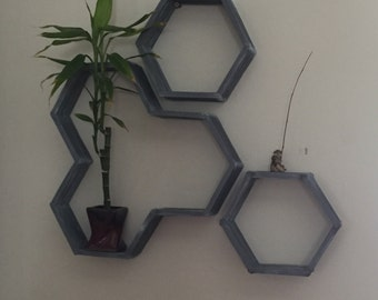 Bee Hive shelves