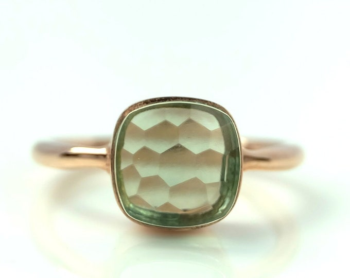 Sucrée Collection | Ring | Prasiolite | Small Model
