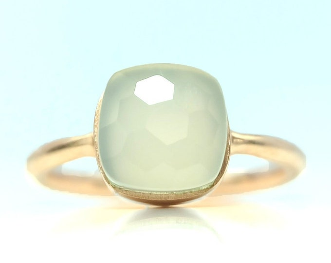 Sucrée Collection | Ring | Natural White Onyx | Small Model