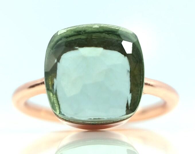 Sucrée Collection | Ring | Prasiolite | Large Model