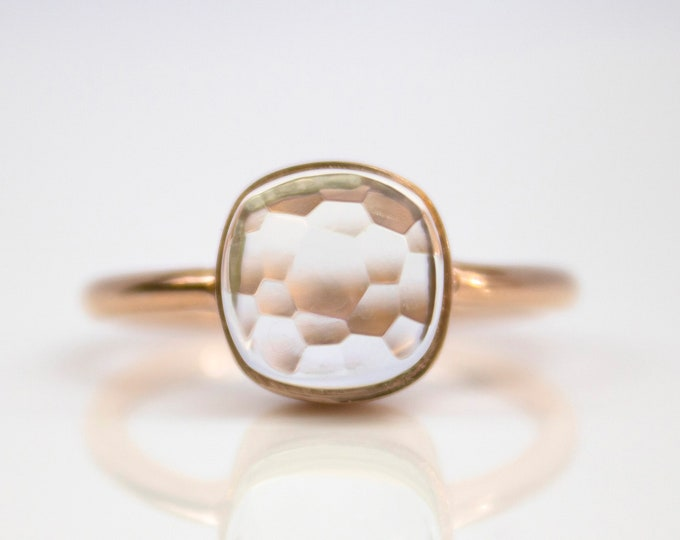 Sucrée Collection | Ring | Crystal Quartz | Small Model