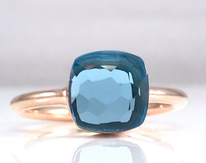 Sucrée Collection | Ring | Swiss Blue | Small Model