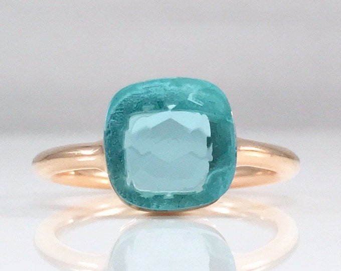 Sucrée Collection | Ring | Sky Blue | Small Model