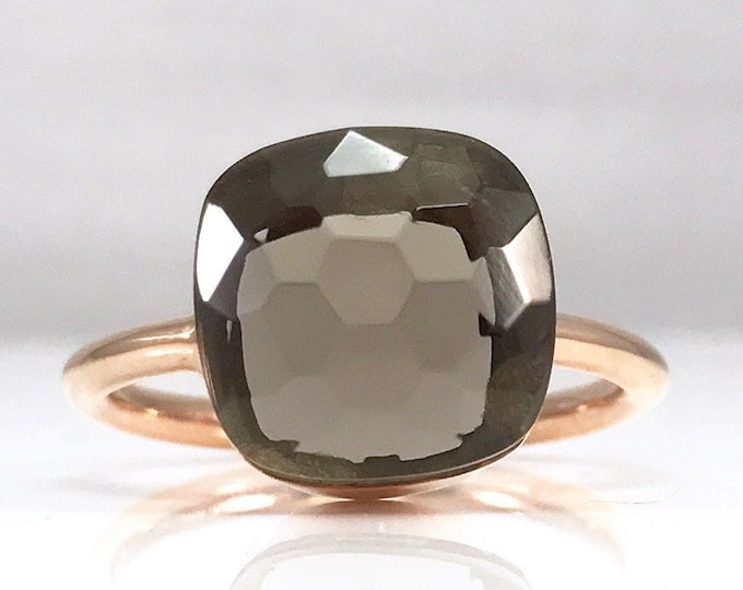 Sucrée Collection | Ring | Smoky Quartz | Large Model
