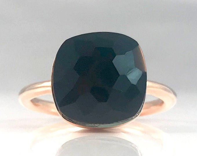 Sucrée Collection | Ring | Natural Black Onyx | Large Model