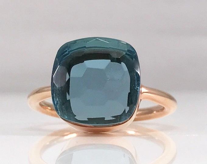 Sucrée Collection | Ring | London Blue | Large Model