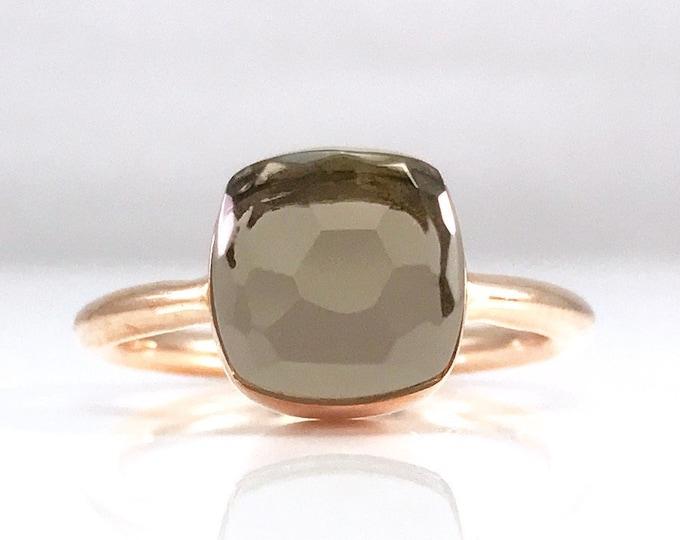 Sucrée Collection | Ring | Smoky Quartz | Small Model