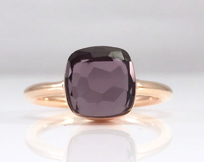 Sucrée Collection | Ring | Purple Amethyst | Small Model