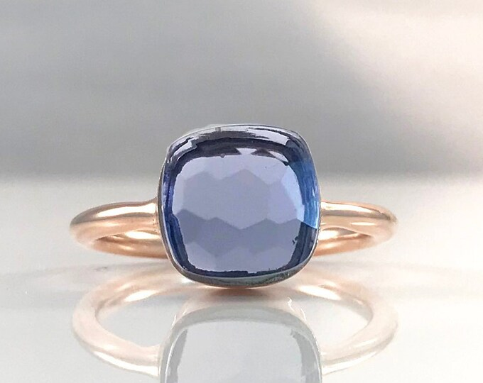 Sucrée Collection | Ring | Iolite Quartz | Small Model