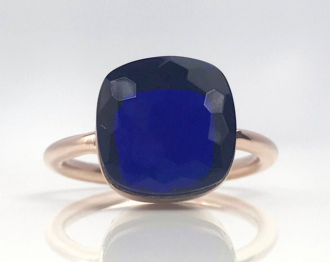 Sucrée Collection | Ring | Sapphire Quartz | Large Model