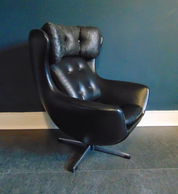 Vintage Mid Century Arne Jacobsen Egg Swivel Childs Chair In Etsy