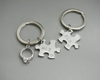 personalized keychain - Couples Keychains 762d743a18