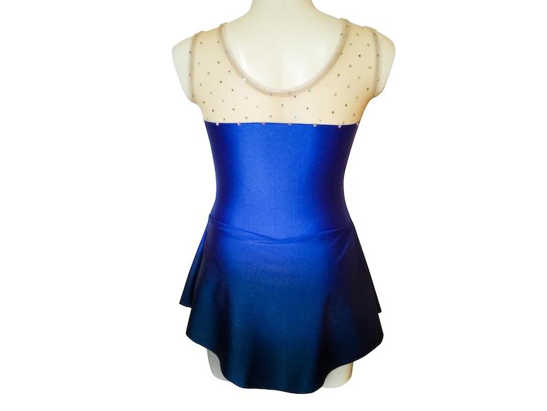 Figure Skating Dress ombre