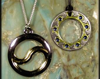 Xena Chakram Necklace Set