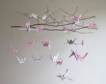 Airplane Mobile Origami Nursery Hanging