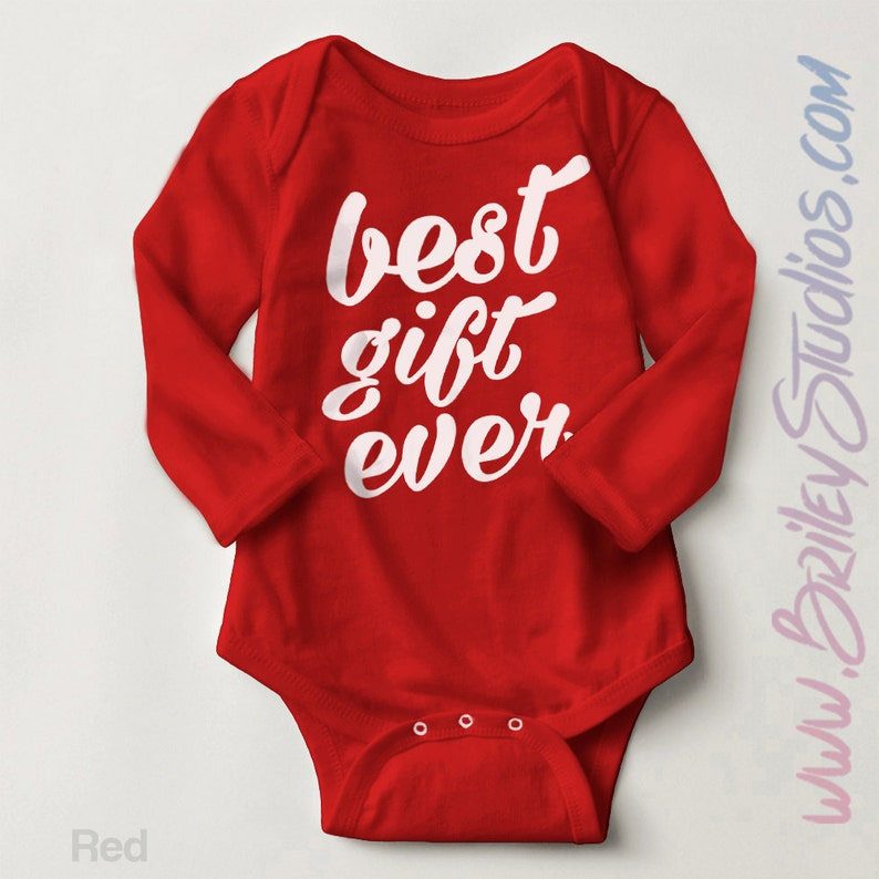 64870c43e9 Best Gift Ever Newborn Baby Outfit Baby s First